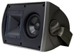 "Klipsch - 5-1/4"" 2-Way All-Weather Outdoor Speakers (Pair) - Black"