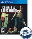 Crimes & Punishments: Sherlock Holmes - Pre-owned - Playstation 4
