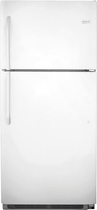 Frigidaire - 20.5 Cu. Ft. Top-Freezer Refrigerator - White