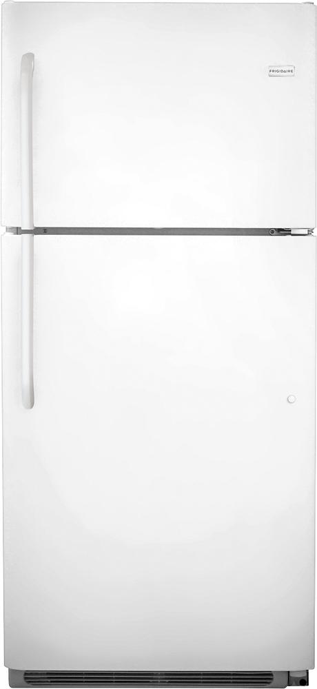 Frigidaire - 20.5 Cu. Ft. Top-Freezer Refrigerator - White