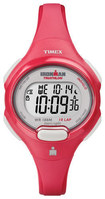 Timex - Ironman Women's Mid-Size 10-Lap Watch - Coral