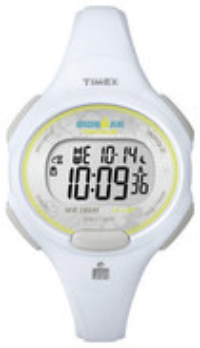 Timex - Ironman Women's Mid-Size 10-Lap Watch - White