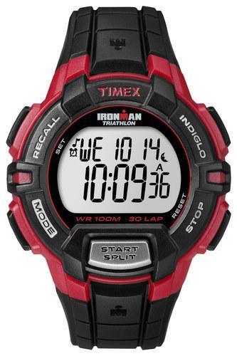 Timex - Ironman Men's Rugged 30-Lap Watch - Black