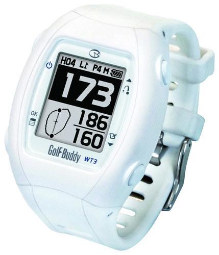 GolfBuddy - WT3 Golf GPS Watch - White