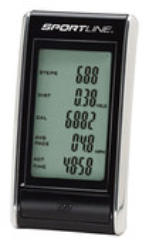 Sportline - 308 SnapShot Pedometer - Black