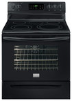 "Frigidaire - Gallery 30"" Self-Cleaning Freestanding Electric Convection Range - Black"