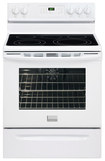 "Frigidaire - Gallery 30"" Self-Cleaning Freestanding Electric Convection Range - White"