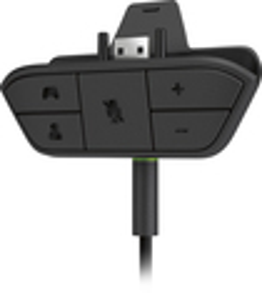 Microsoft - Xbox One Stereo Headset Adapter - Black