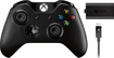Microsoft - Wireless Controller with Play & Charge Kit for Xbox One - Black