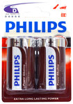 Philips - Power D Batteries (2-Pack)