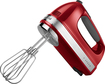 KitchenAid - 7-Speed Hand Mixer - Empire Red