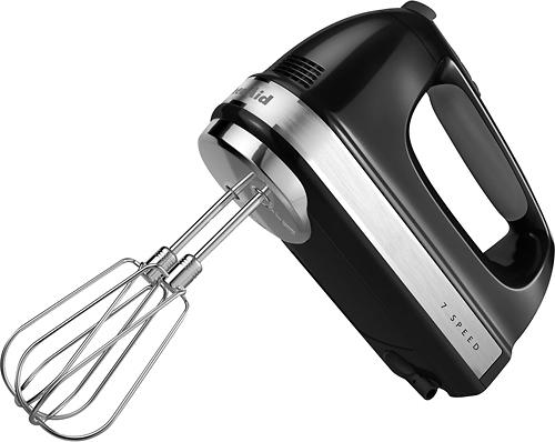 KitchenAid - 7-Speed Hand Mixer - Onyx Black