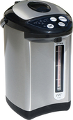SPT - 3.6L Hot Water Dispenser - Stainless-Steel/Black