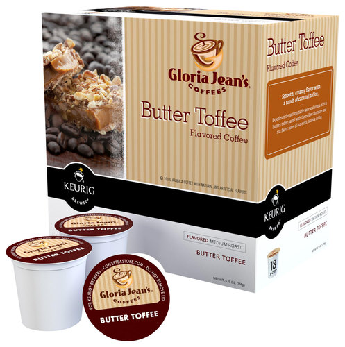 Keurig - Gloria Jean's Butter Toffee K-Cups (108-Pack) - Multi