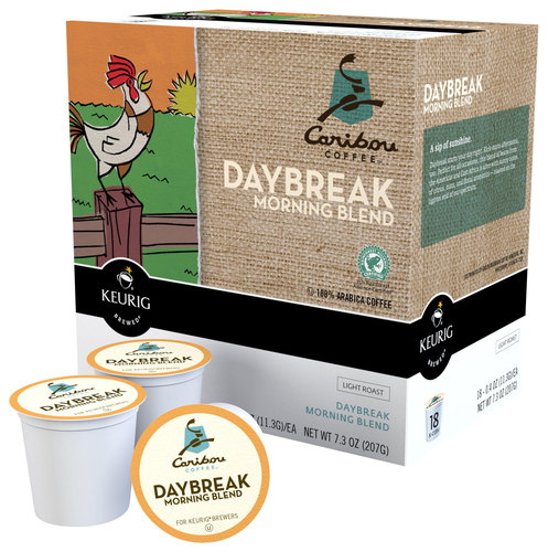Keurig - Caribou Daybreak Morning Blend K-Cups (108-Pack) - Multi