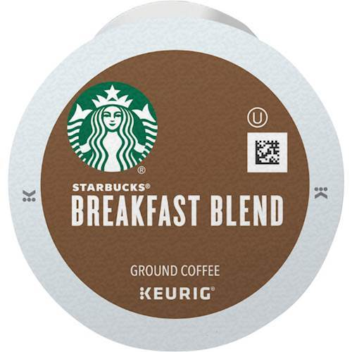 Keurig - Starbucks Breakfast Blend K-Cups (96-Pack) - Multi