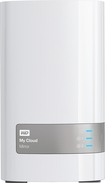 WD - My Cloud Mirror 6TB Personal Cloud Storage - White