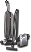 Hoover - Platinum (White) Collection Lightweight Bagged Upright Vacuum Cleaner with Canister - Platinum