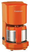 Cuisinart - 4-Cup Coffeemaker - Orange
