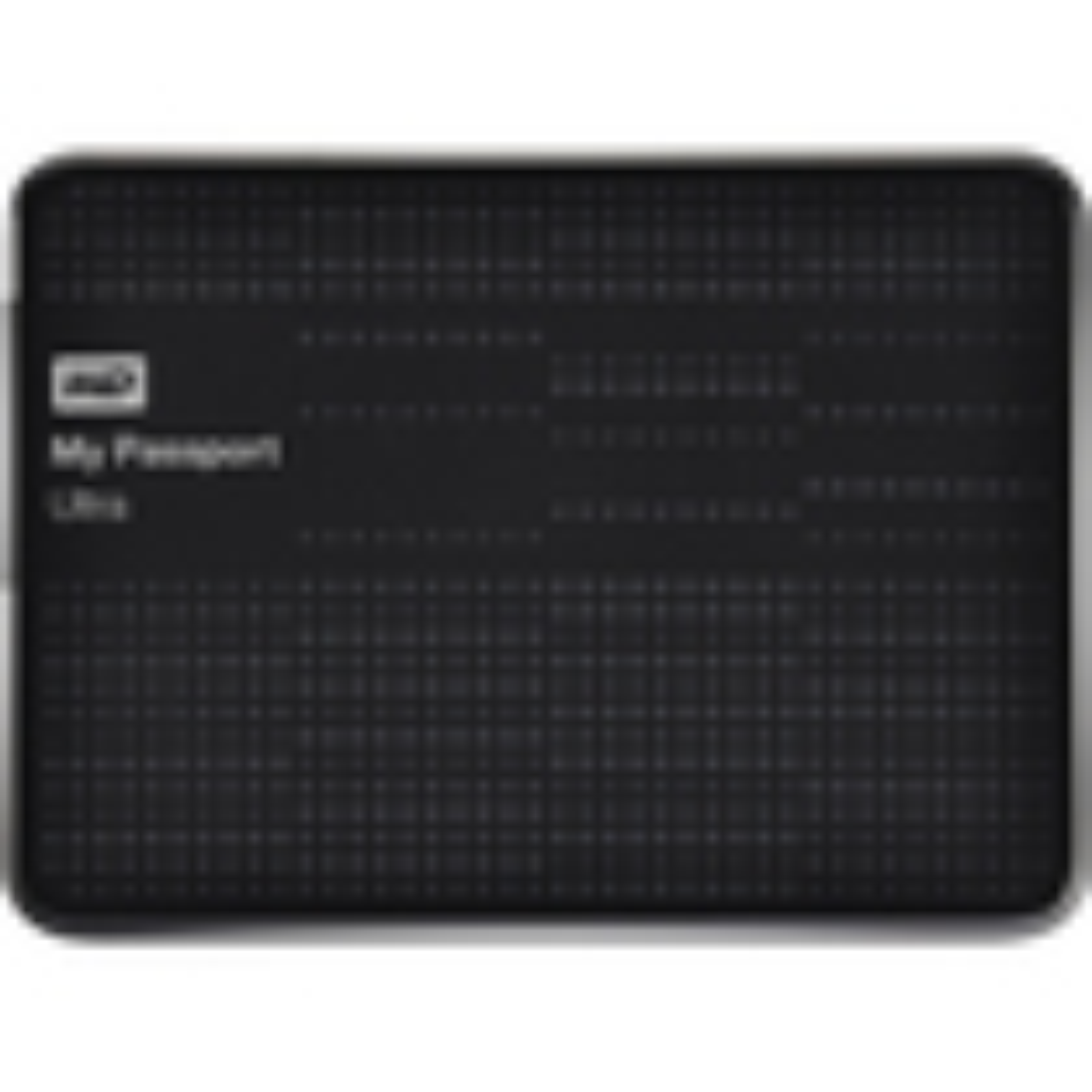 WD - My Passport Ultra 500GB External USB 3.0 Hard Drive - Black