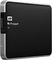 WD - My Passport Air 500GB Metal External USB 3.0 Portable Hard Drive - Black