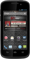 Virgin Mobile - ZTE Reef No-Contract Cell Phone - Black