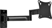 """Peerless - Articulating TV Wall Mount for Most 10"""" - 24"""" Flat-Panel Displays - Gloss Black"""