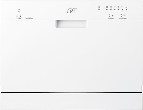 "SPT - 22"" Tabletop Portable Dishwasher - White"