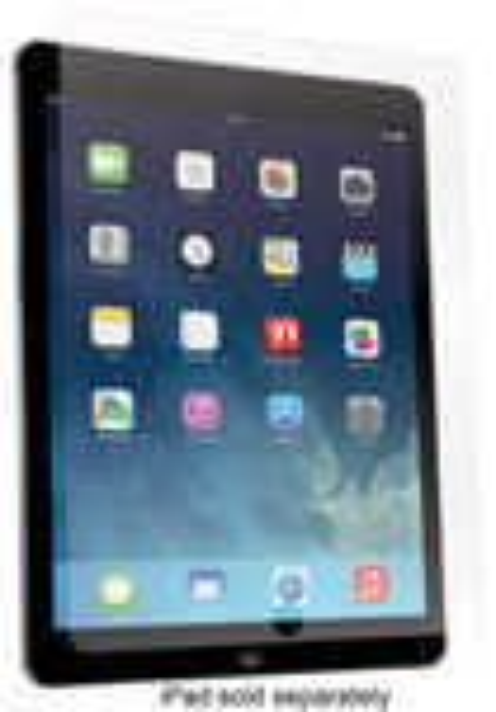 BodyGuardz - ScreenGuardz HD Antiglare Screen Protector for Apple® iPad® Air - Clear