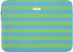 "kate spade new york - Candy Stripe Shamrock/Firoza Sleeve for 13"" Apple® MacBook® - Green"