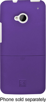 Platinum Series - PT Case with Holster for HTC One Cell Phones - Purple