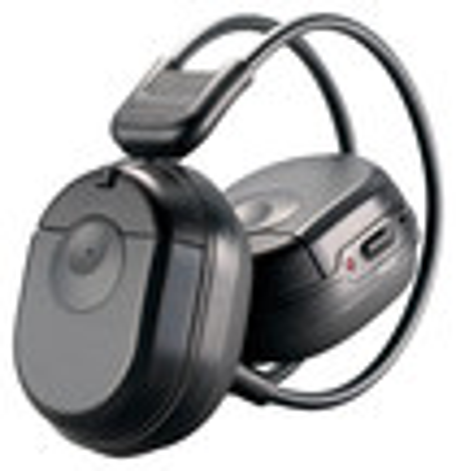 Power Acoustik - Wireless IR Stereo Headphone - Black