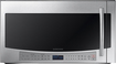 Samsung - 2.1 Cu. Ft. Over-the-Range Microwave - Stainless-Steel