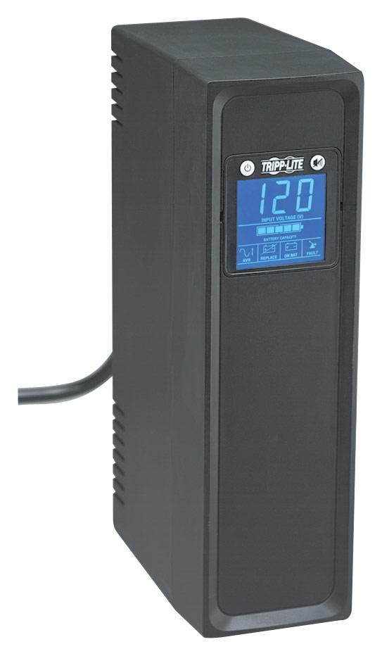 Tripp Lite - OmniSmart 650VA Digital UPS - Black