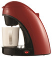 Brentwood - Single-cup Coffeemaker - Red/black 9044829