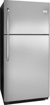 Frigidaire - 20.4 Cu. Ft. Top-Freezer Refrigerator - Stainless-Steel