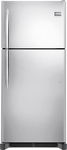 Frigidaire - Gallery 20.4 Cu. Ft. Custom-Flex Top-Freezer Refrigerator - Stainless-Steel