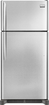 Frigidaire - Gallery 18.3 Cu. Custom-Flex Top-Freezer Refrigerator - Stainless-Steel