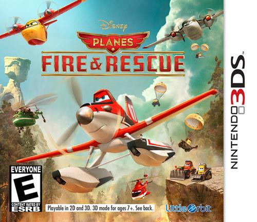 Disney Planes: Fire & Rescue - Nintendo 3DS