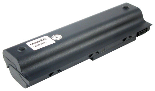 Lenmar - Lithium-Ion Battery for Select Compaq and HP Laptops - Black