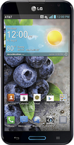 LG - Optimus G Pro 4G LTE Cell Phone - Indigo