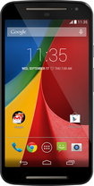 Motorola - Moto G 2nd Generation Cell Phone (Unlocked) (U.S. Version) - Black