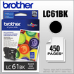Brother - LC61BK Ink Cartridge - Black