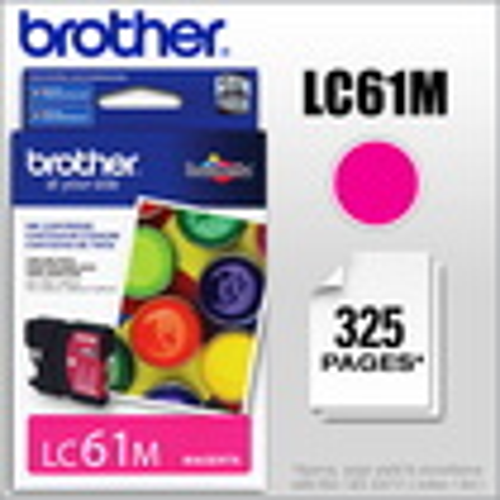 Brother - LC61M Ink Cartridge - Magenta
