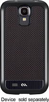 Case-Mate - Carbon Fiber Collection Case for Samsung Galaxy S 4 Cell Phones - Black