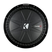 "Kicker - CompR 15"" Dual-Voice-Coil 4-Ohm Subwoofer - Black"