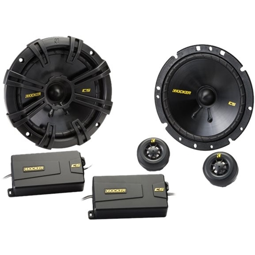 Kicker - CS Series Component Speaker System - Black