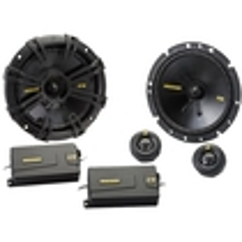 Kicker - CS Series Component Speaker System - Black