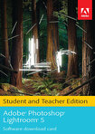 Adobe Photoshop Lightroom 5 Student and Teacher Edition (Software Download Card) - Mac|Windows