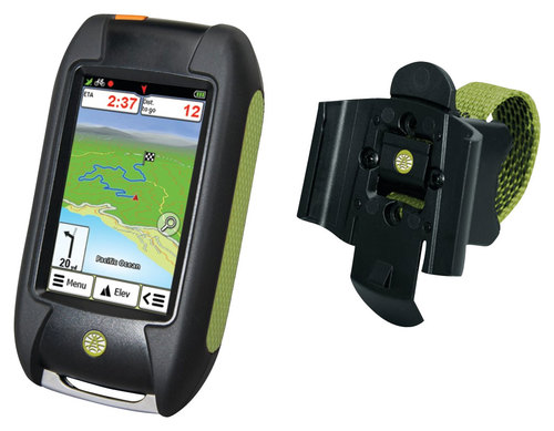 Rand McNally - Foris 850 3 Handheld GPS with Lifetime Map Updates - Black